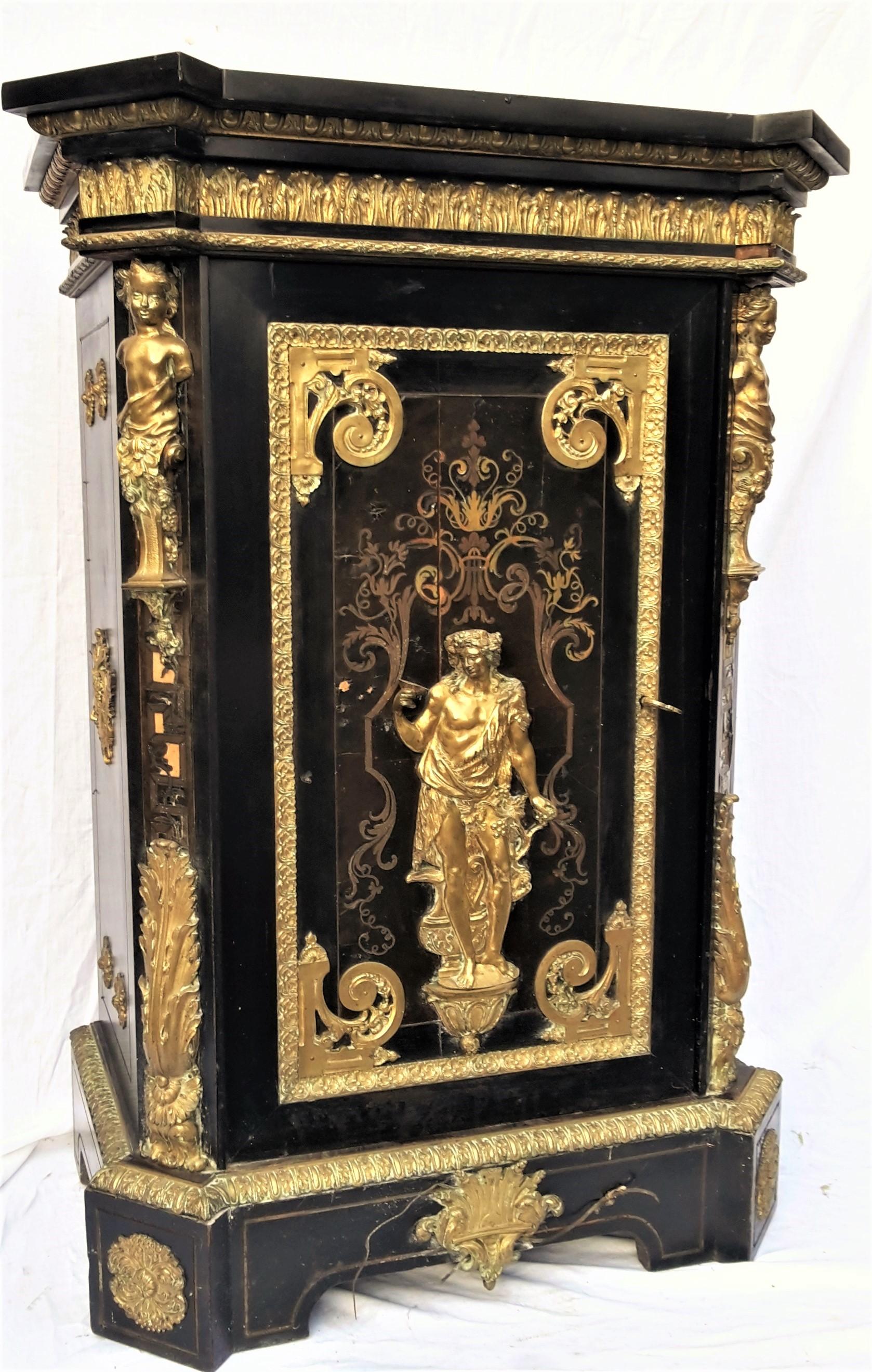 B240 rare meuble louis xiv napoleon iii befort jeune for Meuble louis xiv