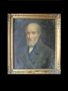 HST XIXeme portrait homme de qualité 1