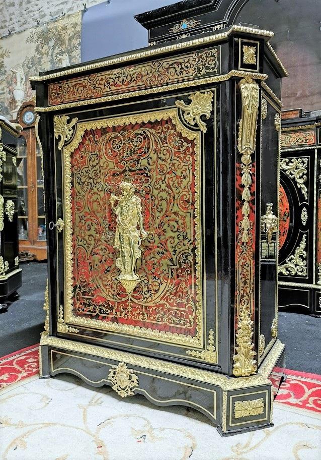 meuble marqueterie boulle  époque Napoléon 3