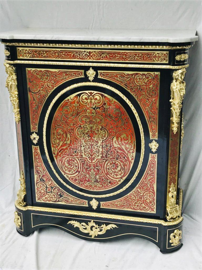 Reconnaitre Le Style D Un Meuble b379 - meuble d'appui marqueterie boulle napoleon iii - la